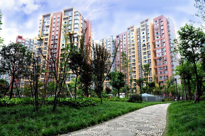 旬阳卷烟厂职工保障住房园林绿化